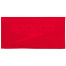 speedo Easy Ręcznik 50x100cm, czerwony